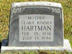 Clara <i>Kinney</i> Hartman