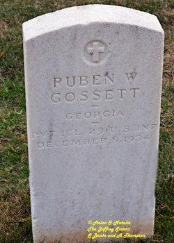 Ruben W Gossett