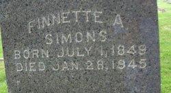 Finnette A. <i>Bartholomew</i> Simons
