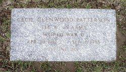 Cecil Glenwood Patterson