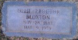 Ollie Virginia <i>Proctor</i> Bloxton