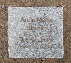 Anna Marie <i>Stroh</i> Brink