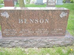 Agnes Benson