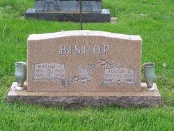Margaret Elizabeth Maggie <i>Wheeler</i> Bishop