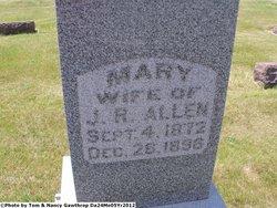 Mary <i>Swigart</i> Allen