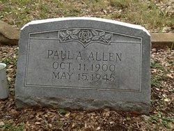 Paul A Allen