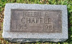 Helen E. Chaffee