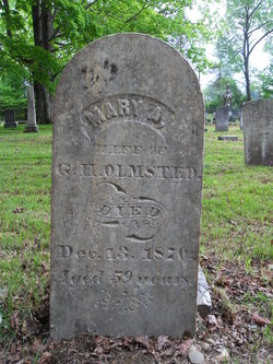 Mary Ann <i>Robertson</i> Olmsted