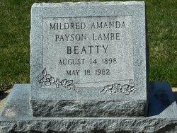 Mildred Amanda <i>Payson</i> Beatty