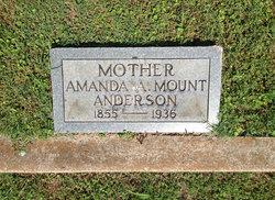 Amanda A <i>Mount</i> Anderson