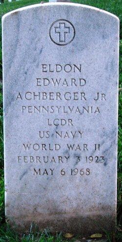 Eldon Edward Achberger, Jr