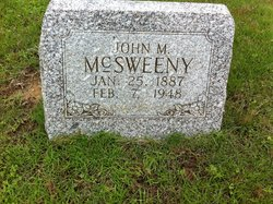 John Milton McSweeny