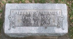 Albert Rudolph Althaus