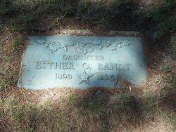 Esther O Bandt