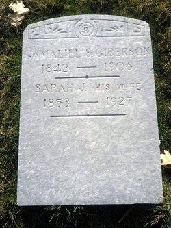Sarah Jane <i>McCauley</i> Giberson