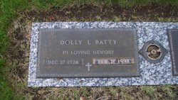 Dolly L <i>McGinnis</i> Batty