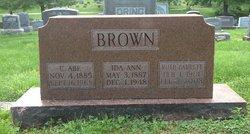 C Abe Brown