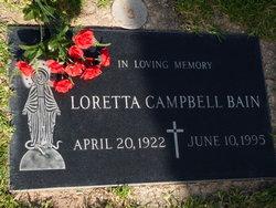 Loretta G. <i>Manning</i> Campbell Bain
