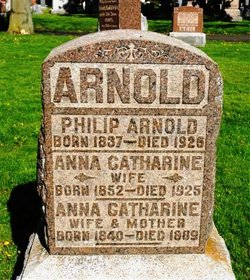 Anna Catharine <i>Plantz</i> Arnold