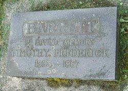 Timothy Frederick Barrett
