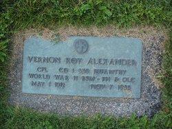 Vernon Roy Alexander