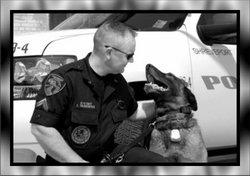 Officer Mico K-9 Dog