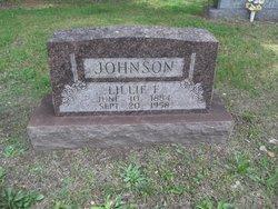 Lillie F Johnson
