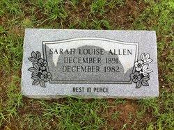 Sarah Louise Allen