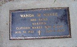 Wanda Marie <i>Bates</i> Marek