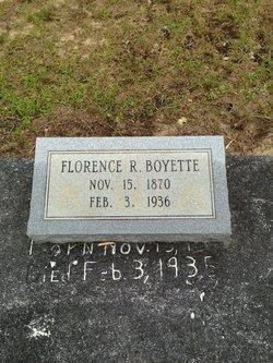 Florence Elizabeth <i>Robertson</i> Boyett