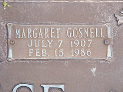 Margaret Gosnell McNeese
