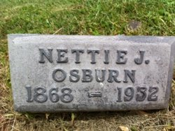 Anjennetta Jane Nettie Jane <i>Perry</i> Osburn