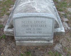 Nellie Louise <i>Abbe</i> Whitaker
