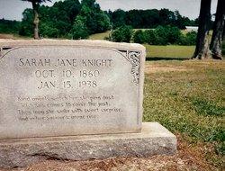 Sarah Jane <i>Gaddy</i> Knight