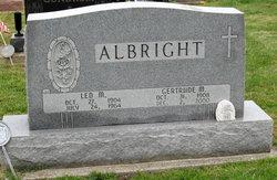 Gertrude M <i>Zanger</i> Albright