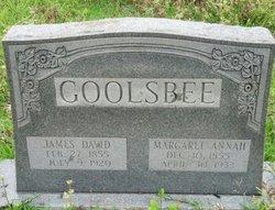 Margaret Annah <i>Rigsby</i> Goolsbee
