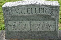 Sarah <i>Martin</i> Mueller