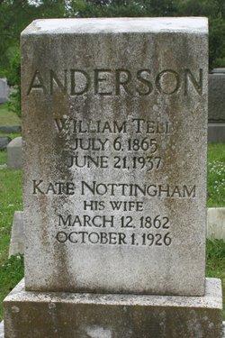 Kate Marion <i>Nottingham</i> Anderson