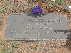 Walter Lee Cross