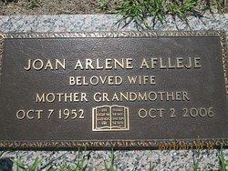 Joan Arlene <i>Nichols</i> Aflleje