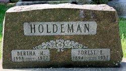 Forest Elmer Holdeman