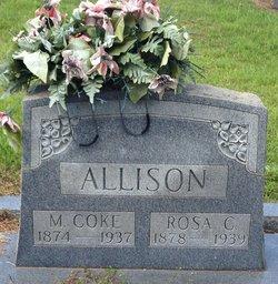 Rosa Caroline <i>Clark</i> Allison