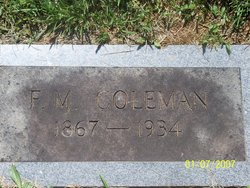 Francis Marion Coleman