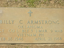 Sgt Billy Carl Armstrong