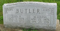 Mary Louisa <i>Miller</i> Butler