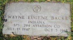 Wayne Eugene Backe