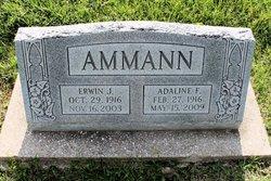 Adaline Frieda <i>Landert</i> Ammann