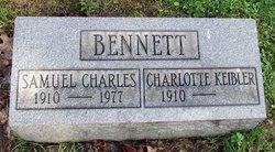 Charlotte May <i>Keibler</i> Bennett