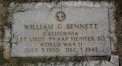 Lieut William G. Bennett