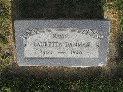Lauretta Charlotta <i>Sager</i> Dammann